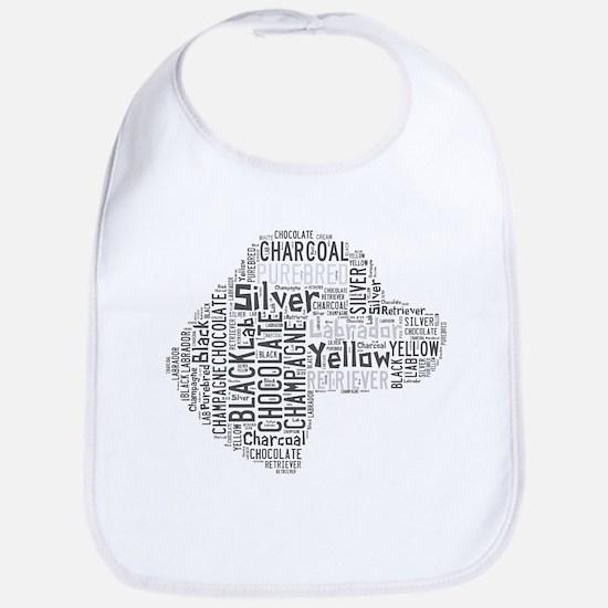 Purebred Labrador Retreiver Bib