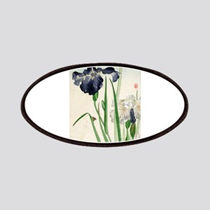 Irises - anon - 1900 - woodcut Patch