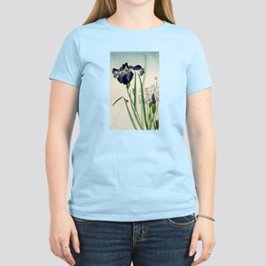 Irises - anon - 1900 - woodcut T-Shirt