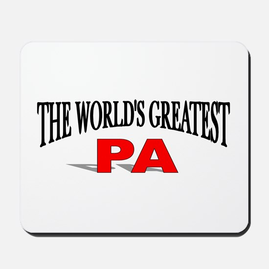 """""""The World's Greatest Pa"""" Mousepad"""