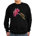Chameleon Lizard on pink flower Jumper Sweater