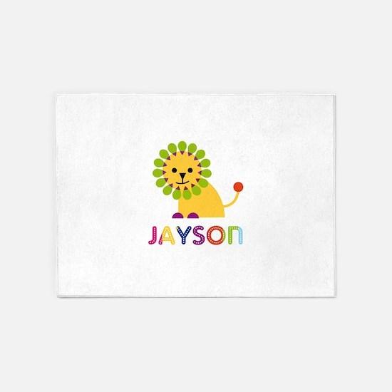 Jayson Loves Lions 5'x7'Area Rug
