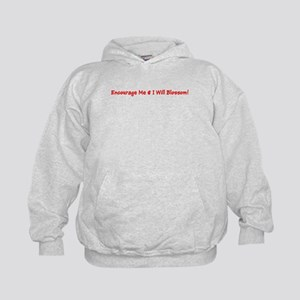 Encourage Me I Will Blossom Red Hoodie