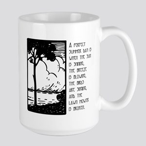 Perfect Summer Day Large Mug
