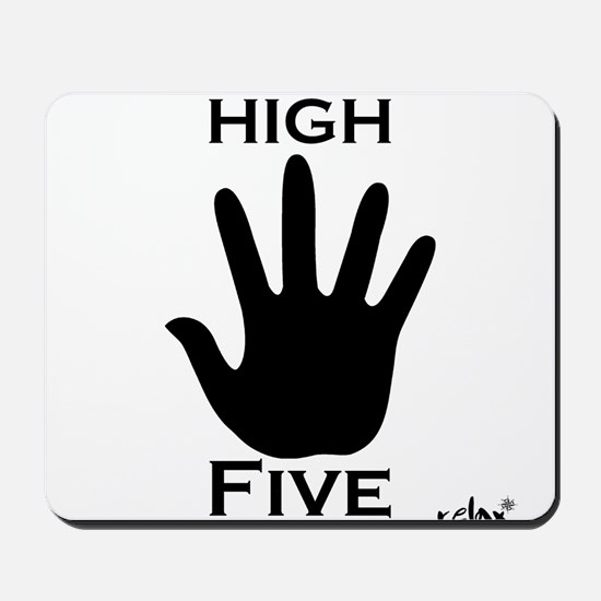 High Five Mousepad