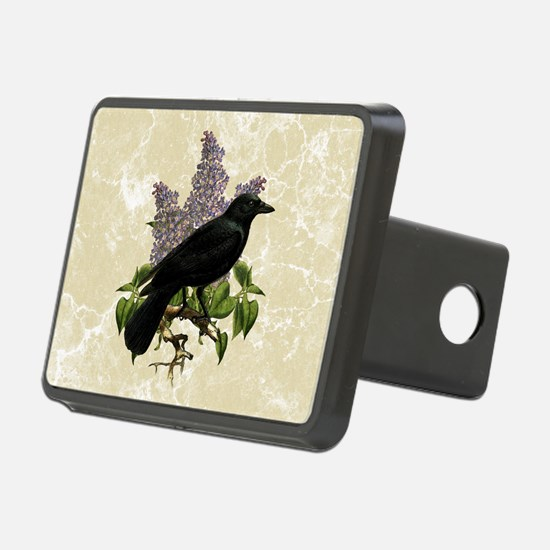 Lilacs And Crow Hitch Cover