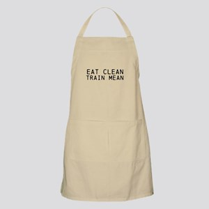 Eat Clean Train Mean Apron