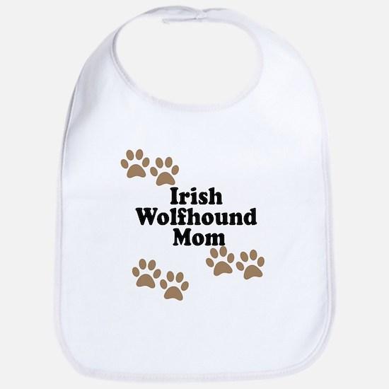 Irish Wolfhound Mom Bib