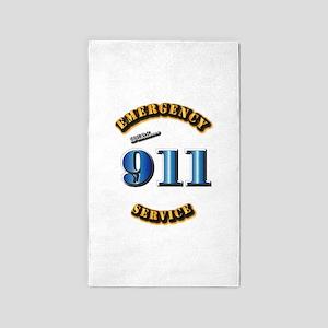 Emergency Service - 911 3'x5' Area Rug