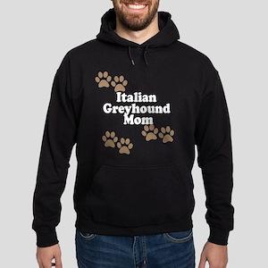Italian Greyhound Mom Hoodie
