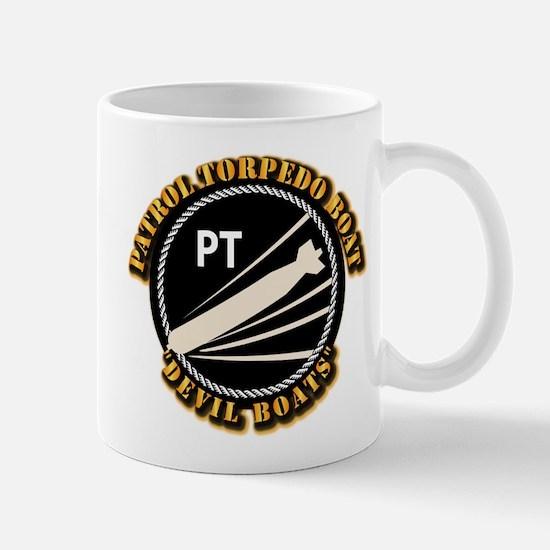 Navy - PT Boats - Devil Boats Mug