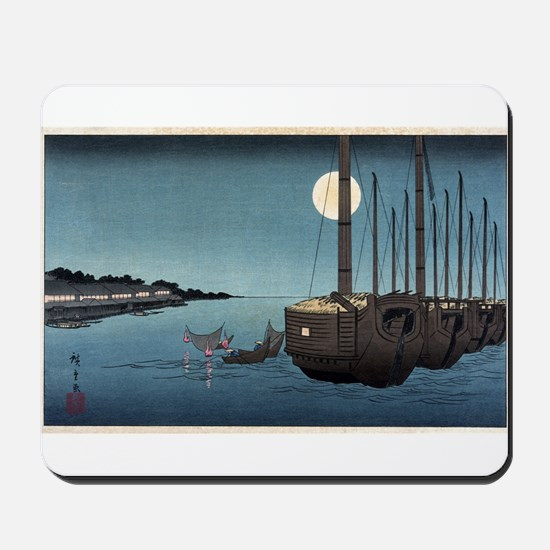 Fukeiga 3 - Hiroshige Ando - 1858 - woodcut Mousep