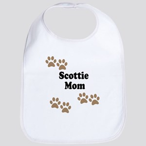 Scottie Mom Bib