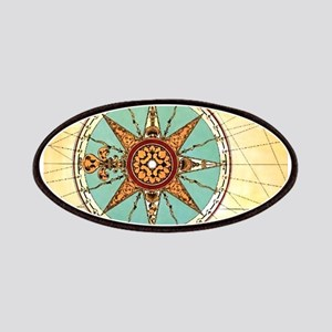 Antique Compass Rose Patches