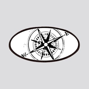 Ring of Fire Graphic Compass Patches