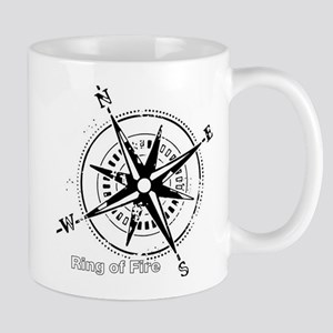 Ring of Fire Graphic Compass Mug
