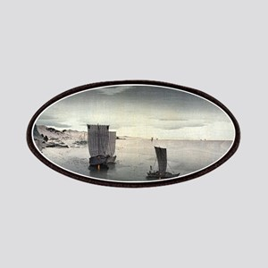 Evening Sailboats - Koson Ohara - 1900 - woodcut P