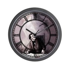 Vintage The Raven Theatrical Wall Clock