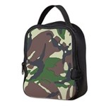 Camouflage Neoprene Lunch Bag