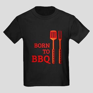 Born To BBQ Kids Dark T-Shirt