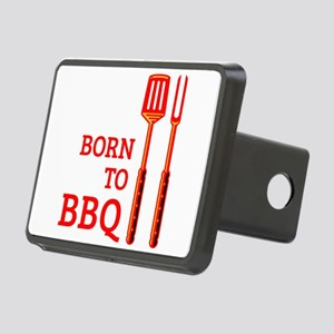 Born To BBQ Rectangular Hitch Cover