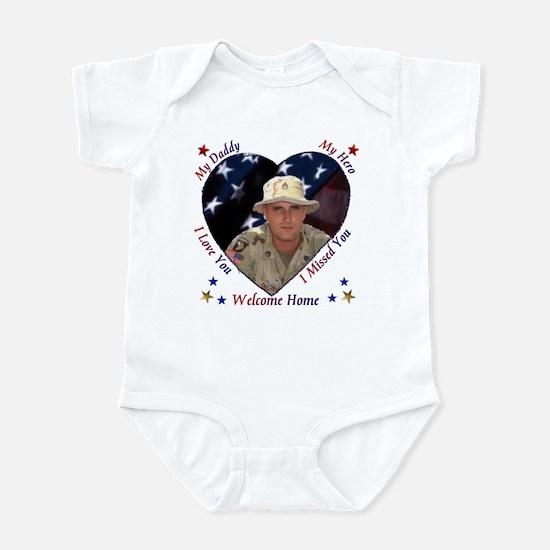 My Daddy My Hero Infant Bodysuit