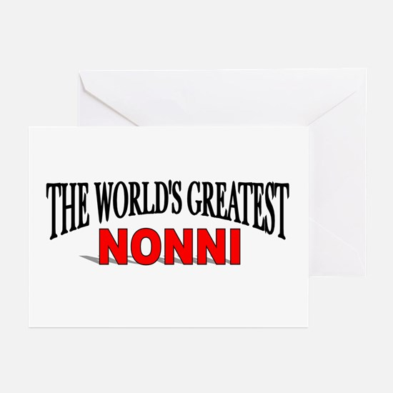 """The World's Greatest Nonni"" Greeting Cards (Packa"