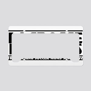Lacrosse Mothers License Plate Holder