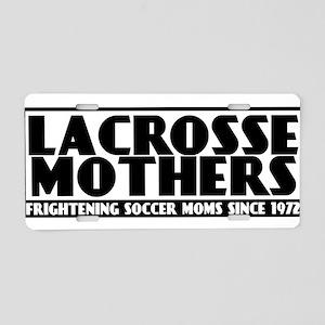 Lacrosse Mothers Aluminum License Plate