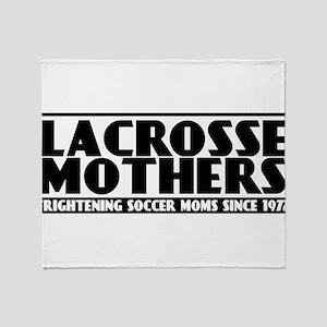 Lacrosse Mothers Throw Blanket