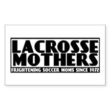 Lacrosse Mothers Sticker (Rectangle)