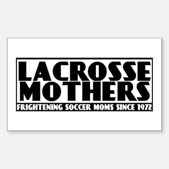 Lacrosse Mothers Sticker (Rectangle)