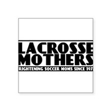 Lacrosse Mothers Square Sticker 3