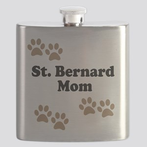 St. Bernard Mom Flask
