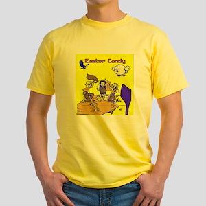 Easter Candy Girls Yellow T-Shirt