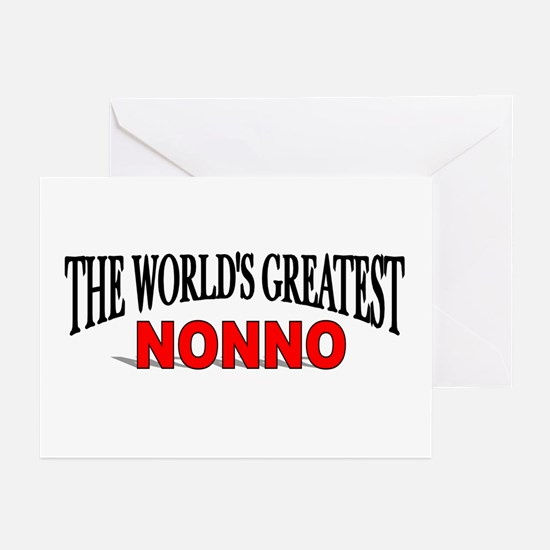 """The World's Greatest Nonno"" Greeting Cards (Packa"