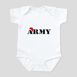 Army Christmas Infant Bodysuit