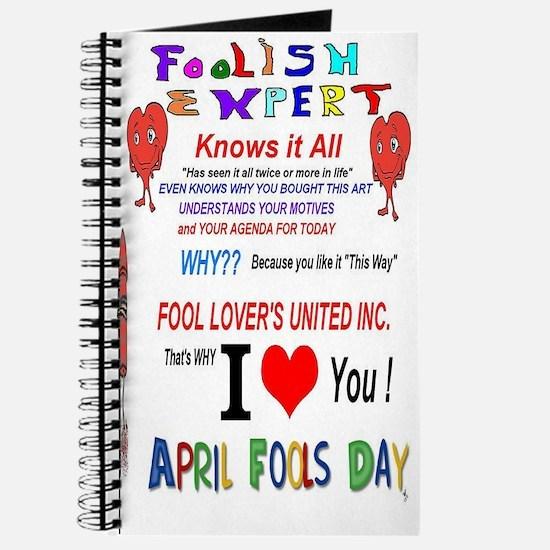 April Fools Foolish Expert Journal
