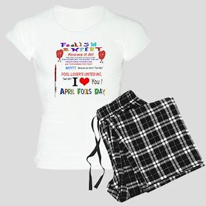 April Fools Foolish Expert Women's Light Pajamas