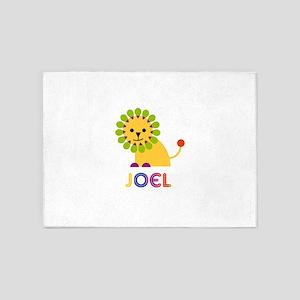 Joel Loves Lions 5'x7'Area Rug