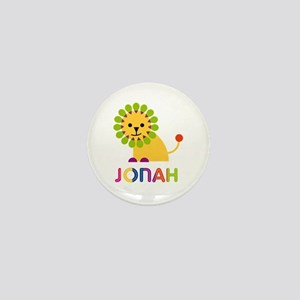 Jonah Loves Lions Mini Button