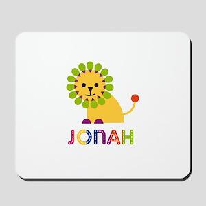 Jonah Loves Lions Mousepad