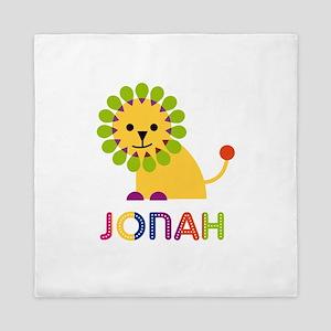 Jonah Loves Lions Queen Duvet