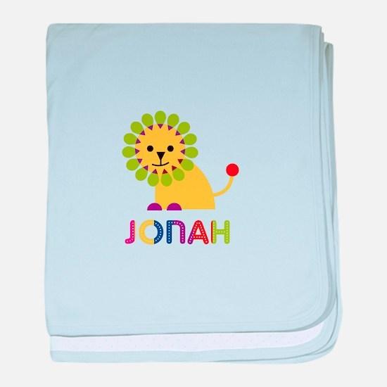 Jonah Loves Lions baby blanket