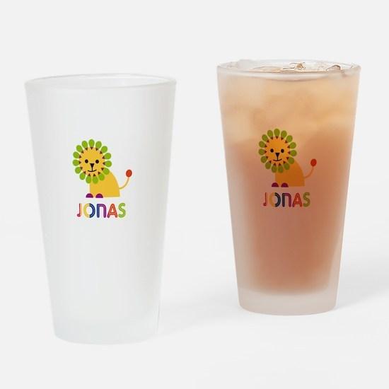 Jonas Loves Lions Drinking Glass