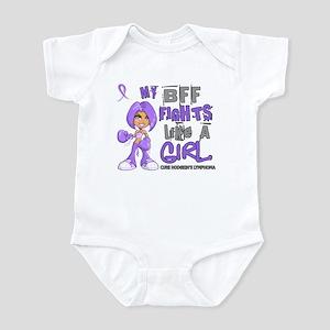 Licensed Fights Like a Girl 42.9 H Infant Bodysuit