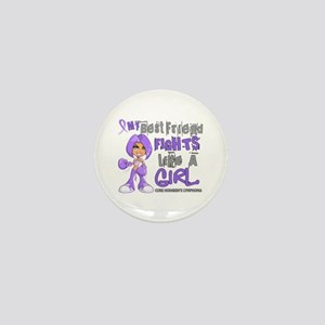 Licensed Fights Like a Girl 42.9 H Lym Mini Button