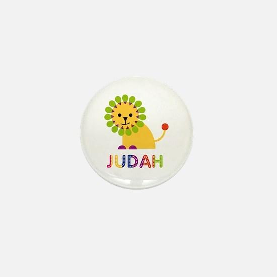 Judah Loves Lions Mini Button