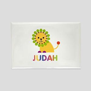 Judah Loves Lions Rectangle Magnet