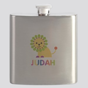 Judah Loves Lions Flask